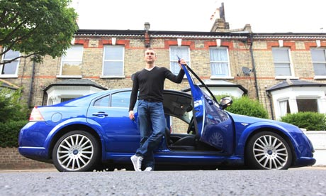 Will Bancroft and his Ford Mondeo