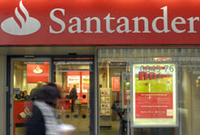 Santander earnings report
