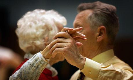 Pensioners In Scotland n A Local Tea Dance