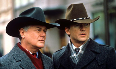 series of Dallas in 1989. Both are returning for the new show