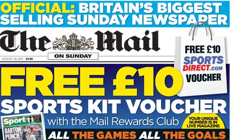 The Mail on Sunday August
