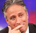 Jon Stewart makes surprise appearance on Egyptian chat show The Daily Show satirist appears on Egypt's equivalent, Al-Bernameg, whose host lampoons religious hardliners