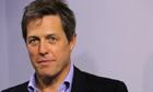 Hugh Grant campaigns for 'Hacked Off'