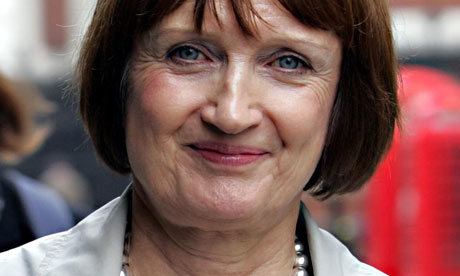 Tessa Jowell leaves the Leveson inquiry.