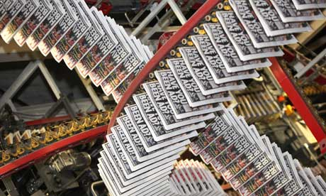 Trinity Mirror Newspaper Printing Presses
