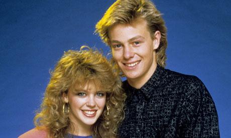Neighbours: Kylie Minogue and Jason Donovan