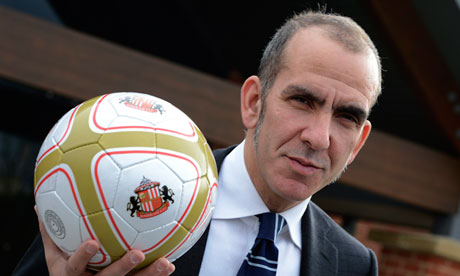 Sunderland's new coach Paolo Di Canio