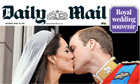 Royal Wedding Daily Mail