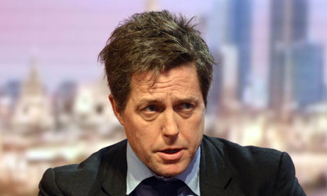 Hugh Grant settles News of the World phone hacking claim  Actor will donate the sustantial damages he received from News International to Hacked Off campaign for press reform