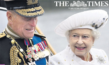 cover of the Times diamond jubilee souvenir edition