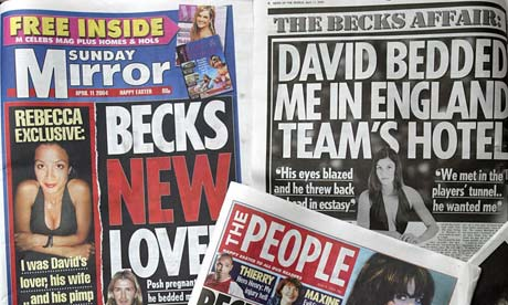 British Sunday tabloids