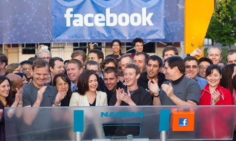 Facebook Debuts As Public Company at Nasdaq