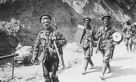 The British army in Gallipoli, 1915