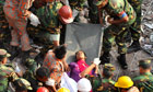 Woman rescued from Rana Plaza 17 days after collapse
