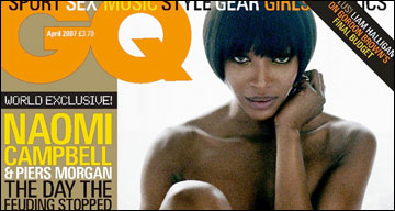 GQ - Naomi Campbell and Piers Morgan interview