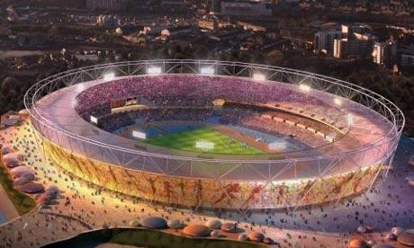 2012 Olympic stadium - artist's impression