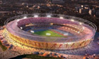 2012 Olympic stadium - artist's impression