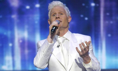 The X Factor final - Rhydian
