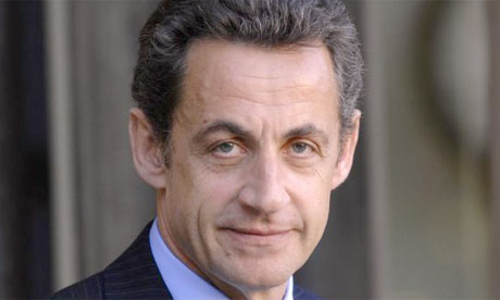 Nicolas Sarkozy, the French president. Photograph: Eric Feferberg/AFP