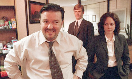 David Brent (Ricky Gervais) in the Office