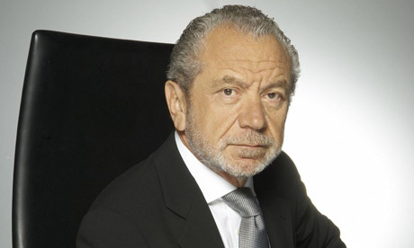 Apprentice 2008: Sir Alan Sugar