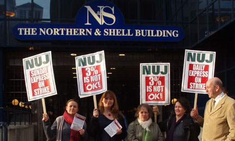 Daily Express and Daily Star strike - Northern & Shell