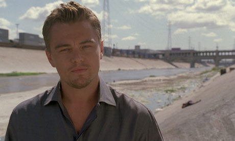 Leonardo DiCaprio narrates The 11th Hour, a feature length documentary concerning the environmental crises caused by humans. Photograph: Channel 4