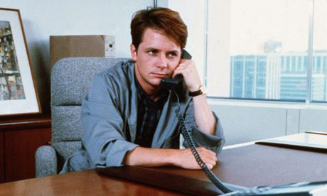 Michael J Fox in The Secret of My Success