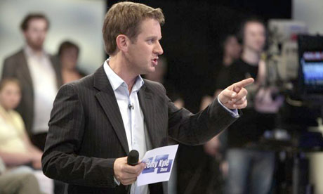 The Jeremy Kyle Show. Photograph: ITV