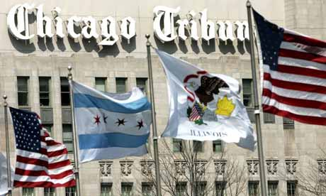 chicago tribune newspaper. Chicago Tribune Building