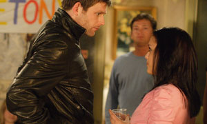 Tony King catches Whitney Dean's eye in EastEnders