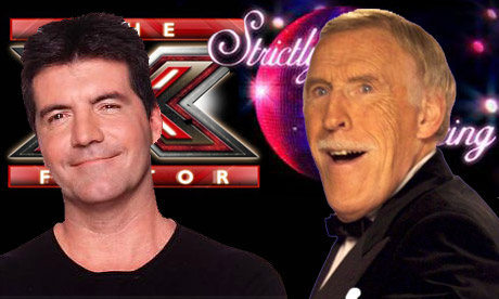 The X Factor v Strictly Come Dancing - composite
