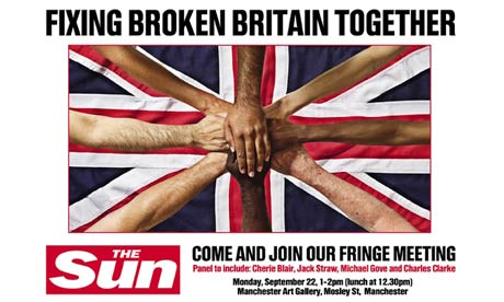 Sun invite to Fixing Broken Britain panel