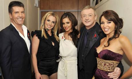 X Factor Judges 2009 School of rock:...