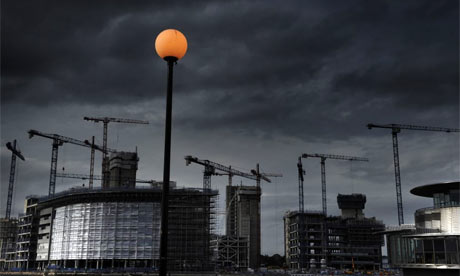 BBC's Media City site in Salford Quays, Manchester. Photograph: Christopher Thomond
