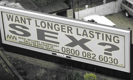 'Longer Lasting Sex' poster: the ASA is taking a firm approach with ...