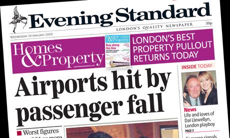 London Evening Standard - January 2009
