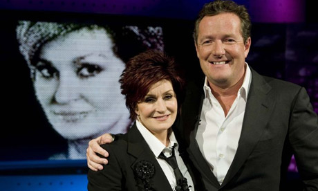 Piers Morgan's new ITV1 interview show, which launched with Sharon Osbourne