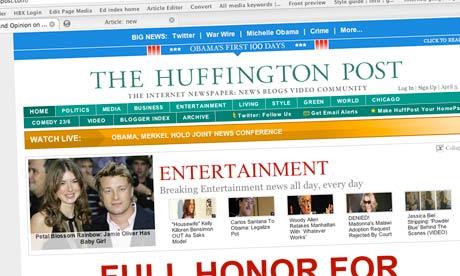 AOL Buys Huffington Post; Huffington to Run AOL Local ...