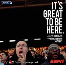 ESPN Premier League advert