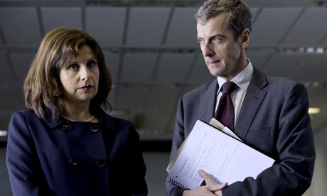 The Thick of It: Rebecca Front as Nicola Murray and Peter Capaldi as Malcolm Tucker