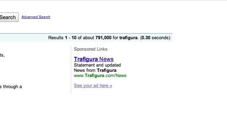 trafigura google