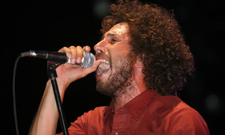 Rage Against the Machine singer Zack de la Rocha