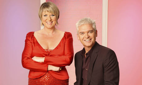 Fern Britton and Phillip Schofield on This Morning