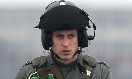 prince william date of birth. Prince William during pilot