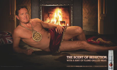 Piers Morgan Burger King poster
