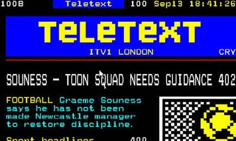 Teletext page
