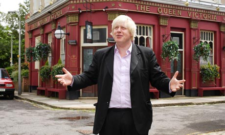 EastEnders: Boris Johnson