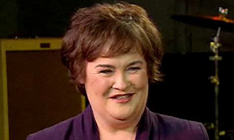 Susan Boyle: to appear on NBCs The Today Show tonight. Photograph: NBC