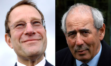 Richard Desmond and Tom Bower montage